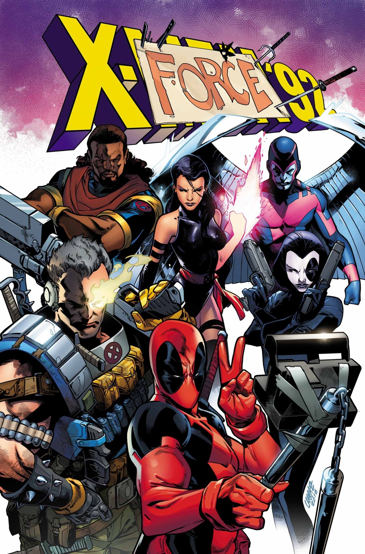 Deadpool y Xmen