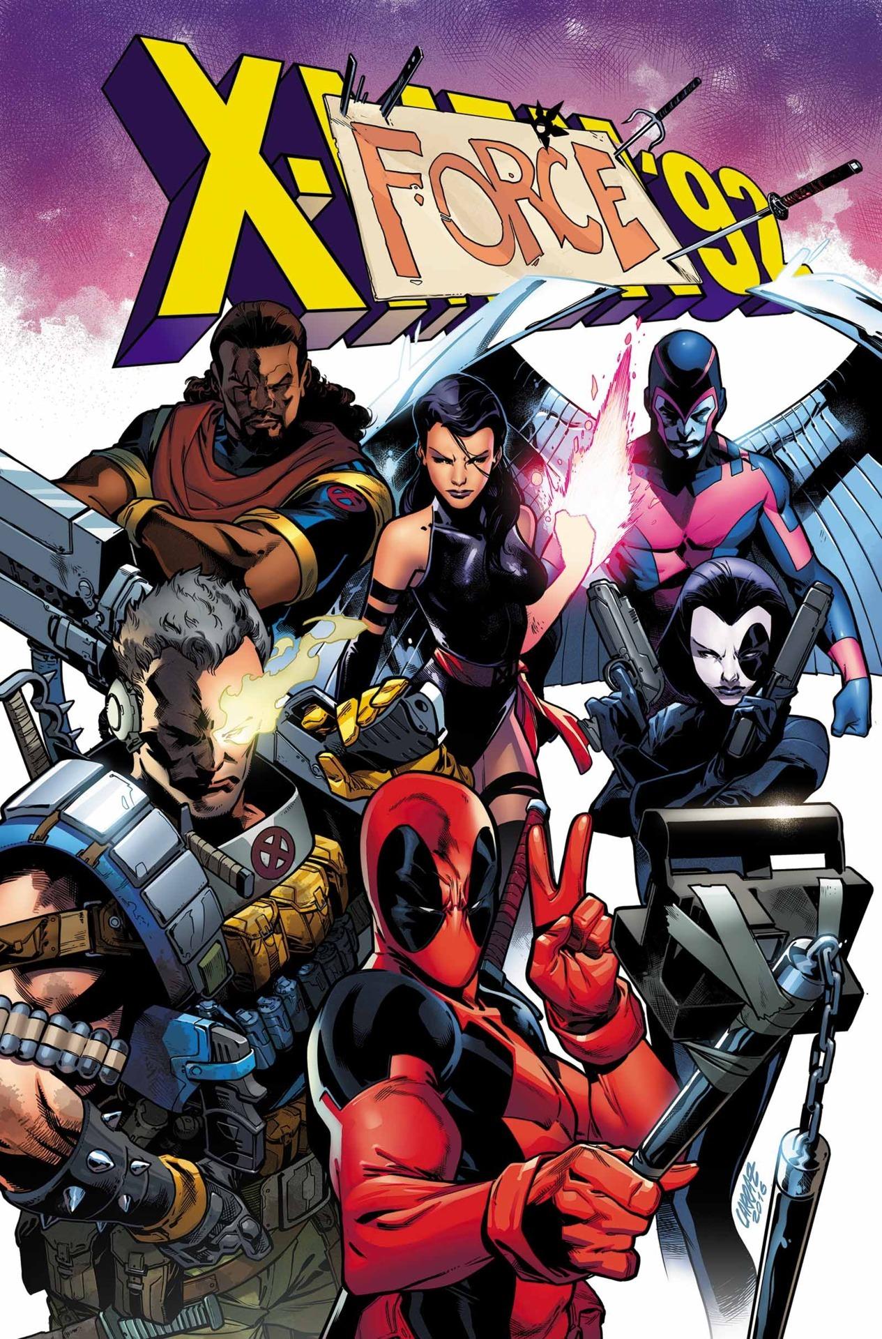 Deadpool y Xmen