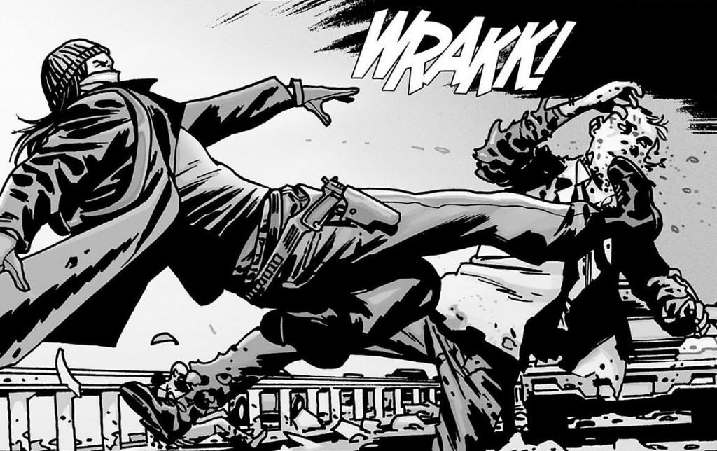 Jesus Paul Monroe The Walking Dead Comic