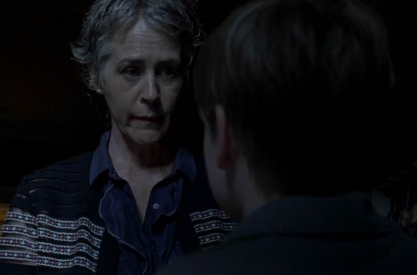 Carol Sam The Walking Dead