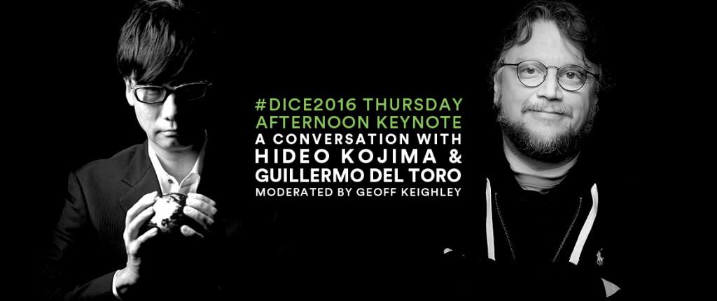 Kojima Del Toro DICE 2016