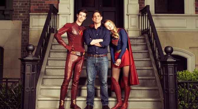 the flash y supergirl crossover oficial