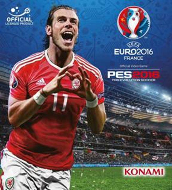 Esta será la portada del EURO 2016 de Konami con Bale.