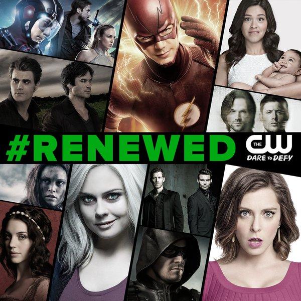 The CW renueva toda su plantilla