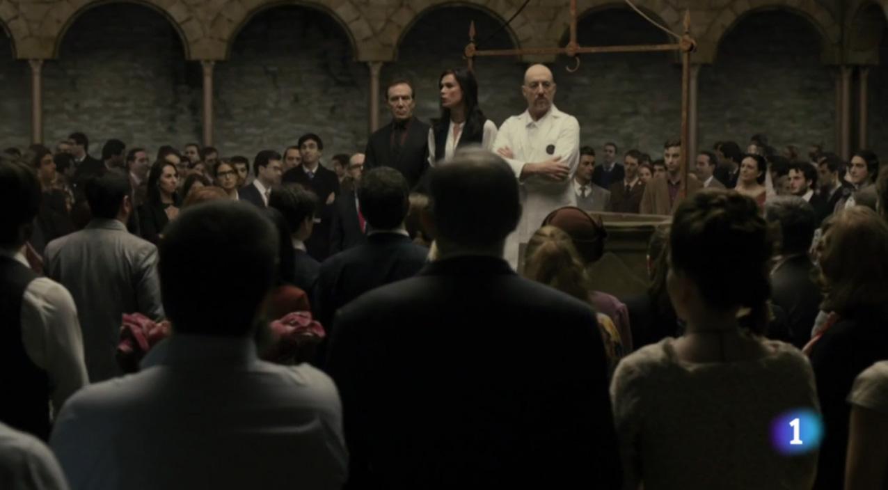 Ministerio del Tiempo 2x05 Claustro extras Ministericos Ministericas