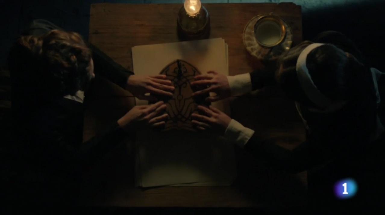 Ministerio del tiempo 2x06 Amelia Ouija