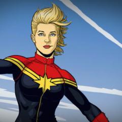 Capitana Marvel se une a Vengadores: Infinite War I