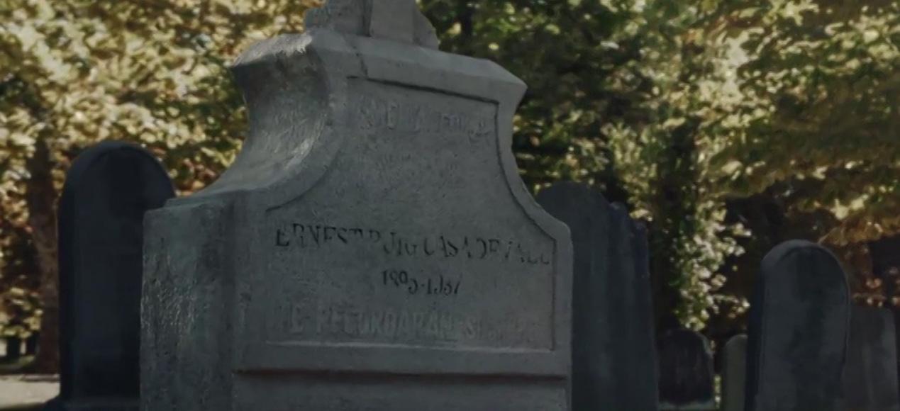 Ministerio del Tiempo 2x08 Lapida Amelia Folch