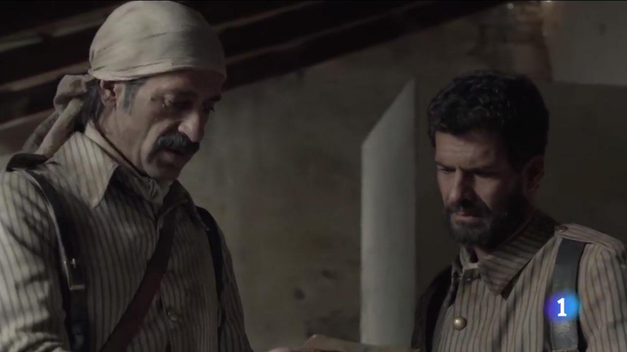 Ministerio del tiempo 2x08 Alonso Julian Baler