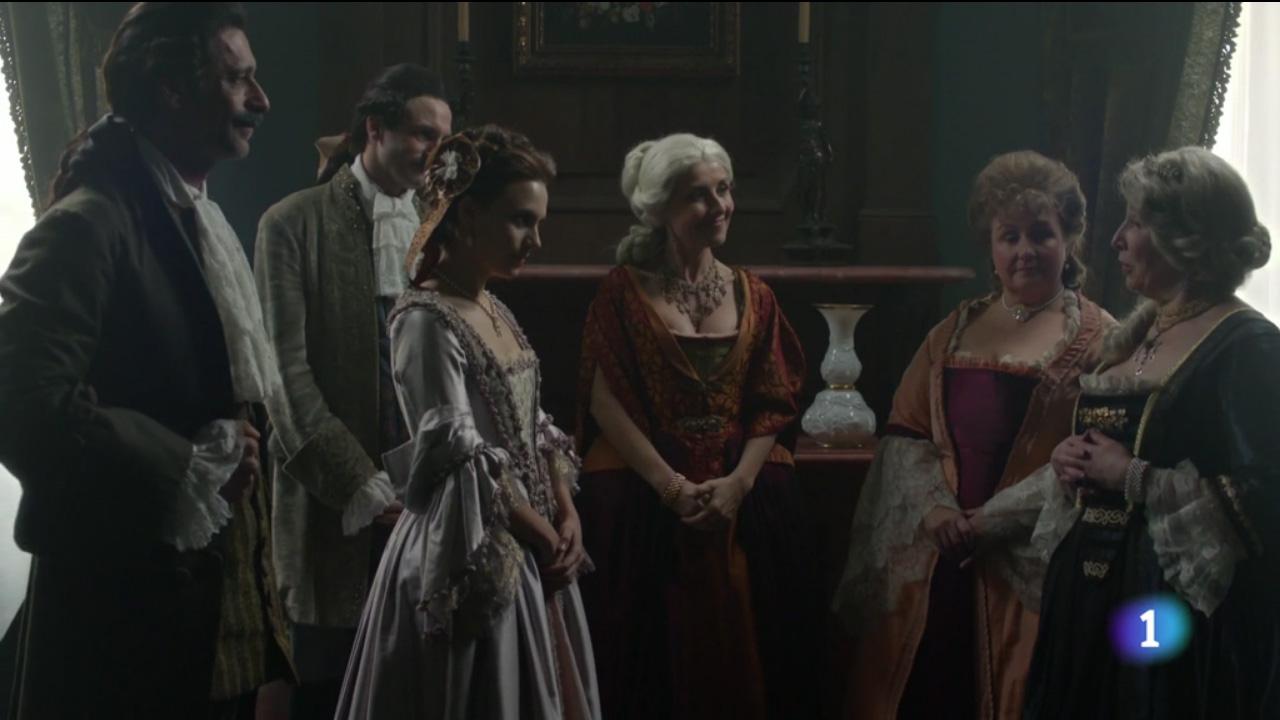 Ministerio del tiempo 2x09 Alcazar Amelia Alonso Velázquez