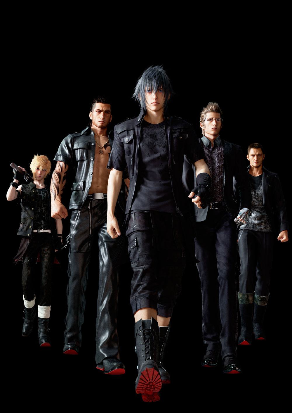 Final-Fantasy-XV-Main-Cast-CG