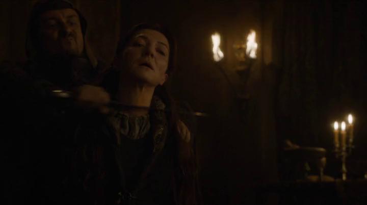 Juego de Tronos 6x06 Catelyn Stark Lady Corazón de Piedra