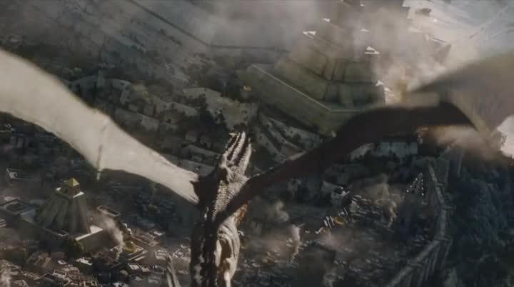 Juego de Tronos 6x09 Daenerys Drogon