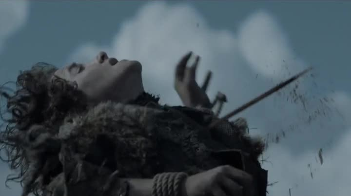 Juego de Tronos 6x09 Rickon Stark Death