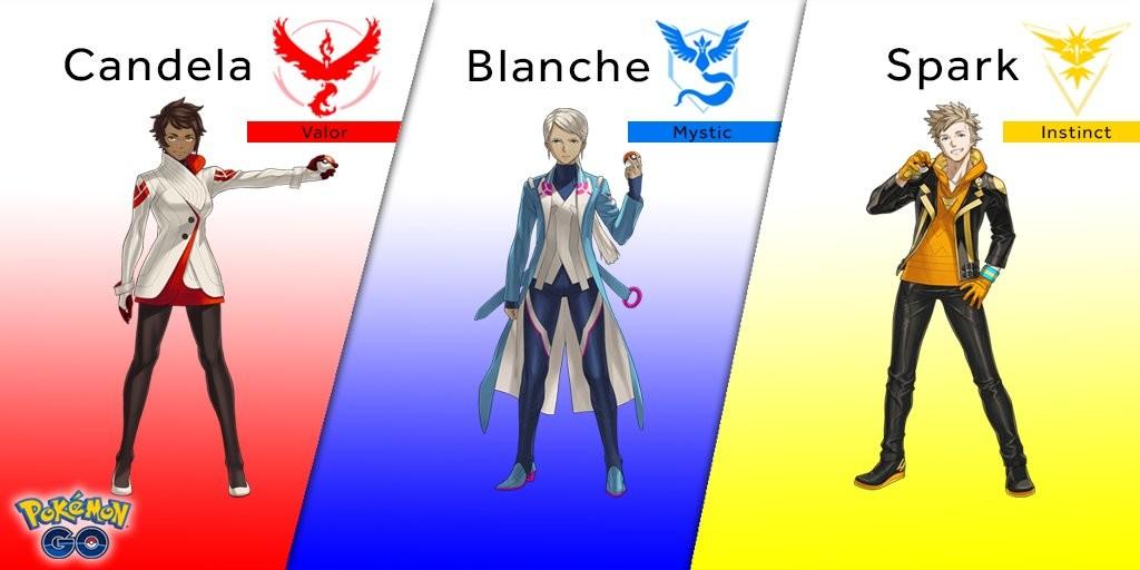 Líderes Pokémon Go