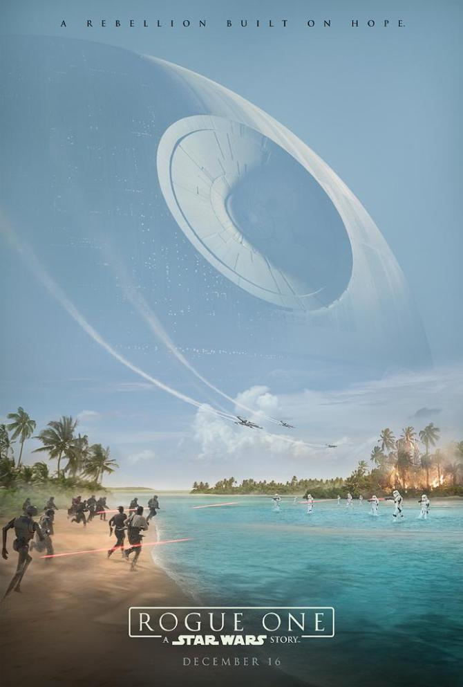 star wars rogue one poster
