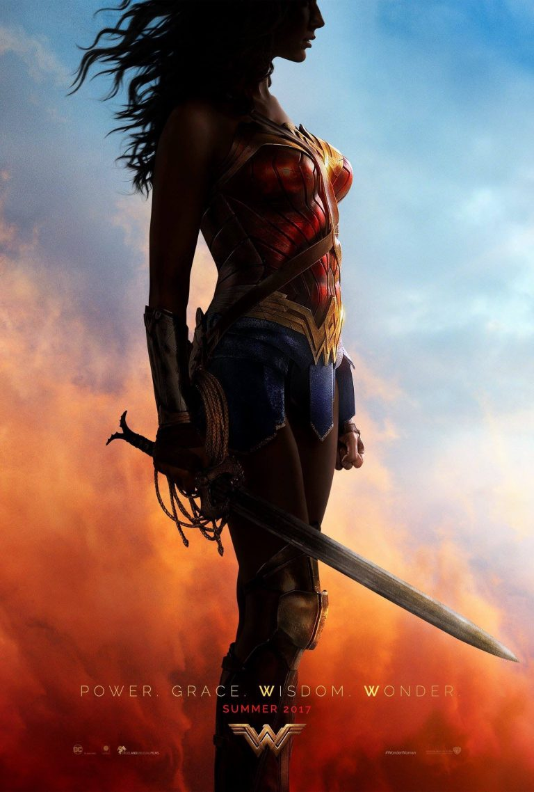 Wonder Woman Poster oficial