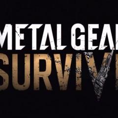 Metal Gear Survive: Konami presenta su Nuevo Metal Gear para 2017