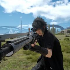 Imágenes de las armas de fuego en Final Fantasy XV