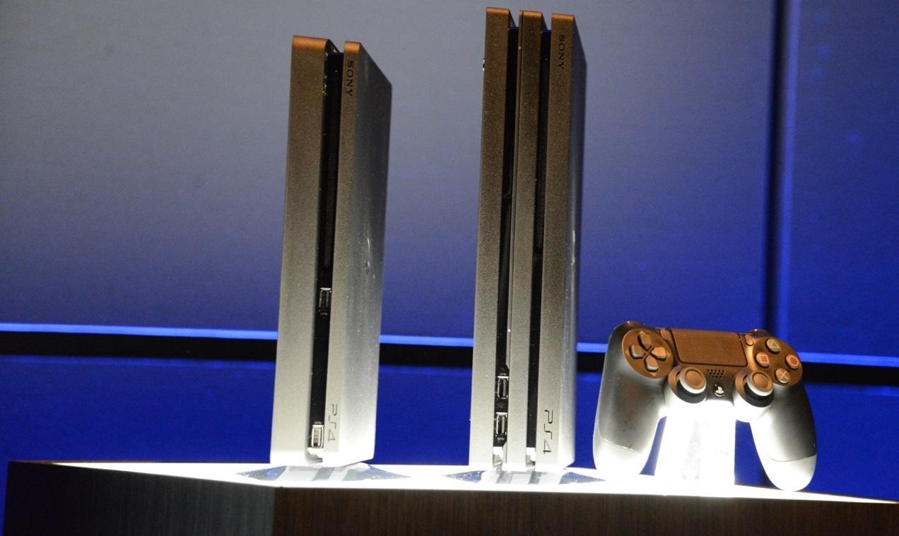 Sony ps4 slim y ps4 pro