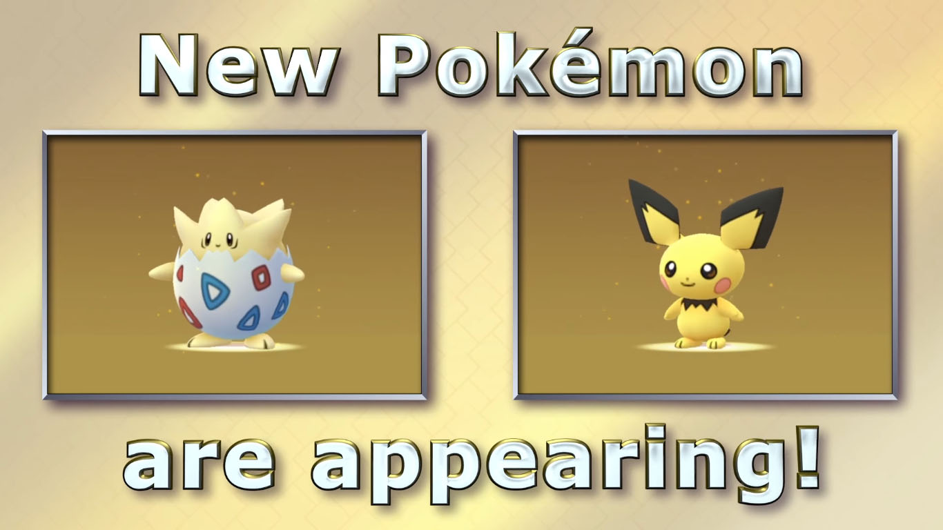 Togepi Pokémon Go Pichu