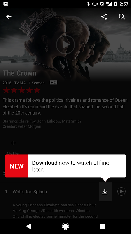 Netflix Offline