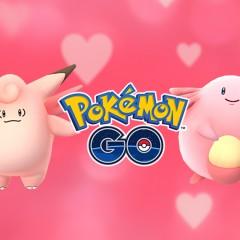 Lluvia de Chansey y Clefable en el evento San Valentín de Pokémon Go!