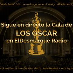 La gala de los Oscars, en directo en ElDesmarque Radio