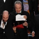 'Moonlight', Óscar a mejor película tras anunciar por error 'La La Land'