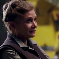 Carrie Fisher aparecerá finalmente en Star Wars: Episodio IX