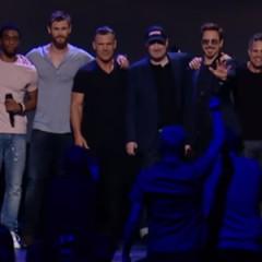 Infinity War se presenta oficialmente en la D23 Expo