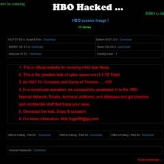 Identificado uno de los hackers de Juego de tronos