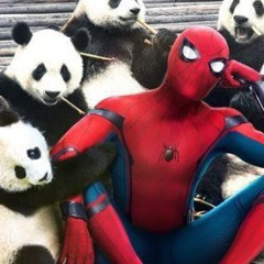 China y sus peculiares posters de Spiderman: Homecoming