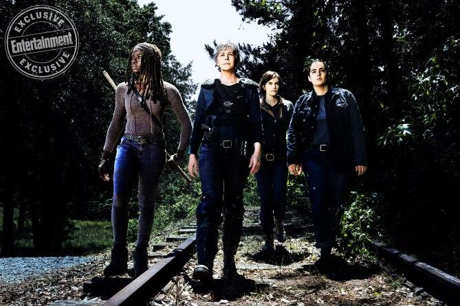 Las mujeres de The Walking Dead