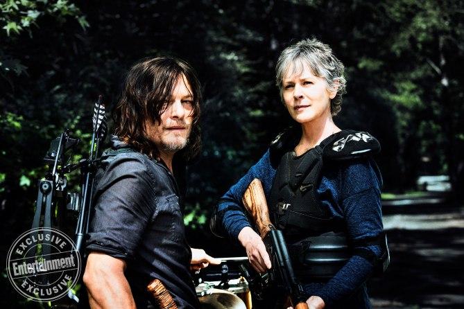 Daryl y Carol vuelven a las andadas