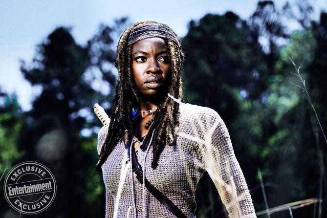 Michonne será uno de los pilares fundamentales del grupo de Rick