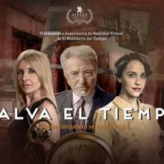 El Ministerio del Tiempo presenta 'Salva el tiempo', experiencia de RV