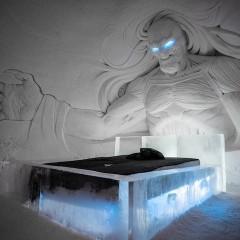 Finlandia abre su hotel de hielo dedicado este año a Juego de tronos