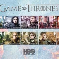 Reino Unido edita una serie de 15 sellos de Juego de tronos