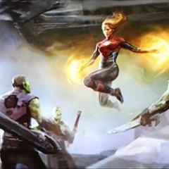 Capitana Marvel: nuevas imágenes del rodaje