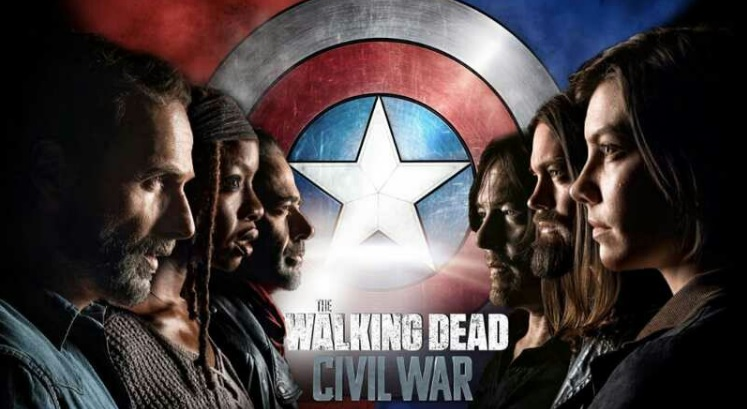 civil war The Walking dead