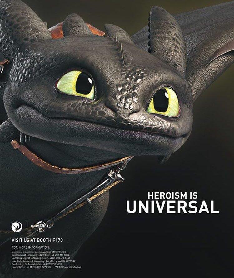 Como entrenar a tu dragon 3 poster