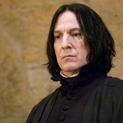 "Alan Rickman (Snape) estaba ""frustrado"" con la saga Harry Potter"