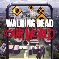 """The Walking Dead: Our world, el """"Pokémon Go"""" de zombies"""