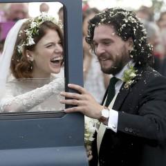 Rose Leslie y Kit Harington (Juego de tronos) se han casado