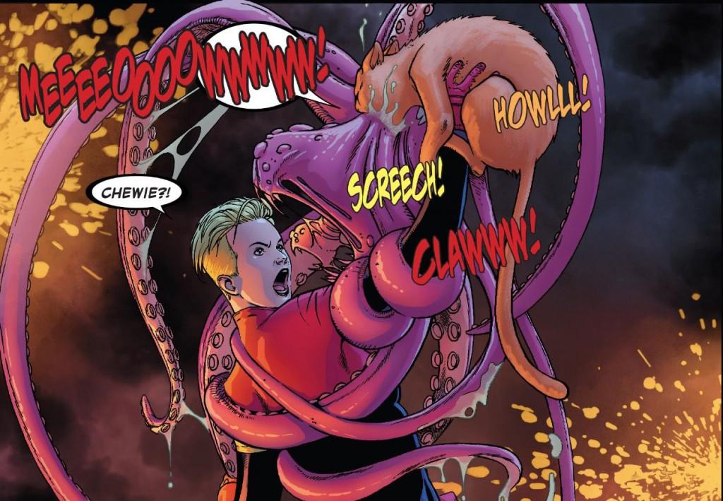 Chewie Goose Carol Danvers Capitana Marvel