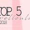 TOP 5 de las mejores películas de 2018
