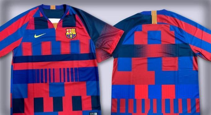 precio de calle imágenes oficiales 50% rebajado FC Barcelona | Nike presenta la camiseta conmemorativa