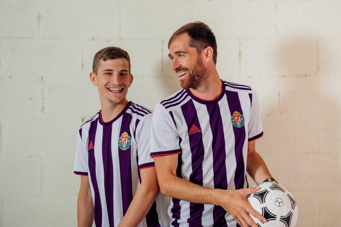 en línea para la venta nuevos estilos gran venta Camiseta Adidas Real Valladolid, previsión cerca napara venta