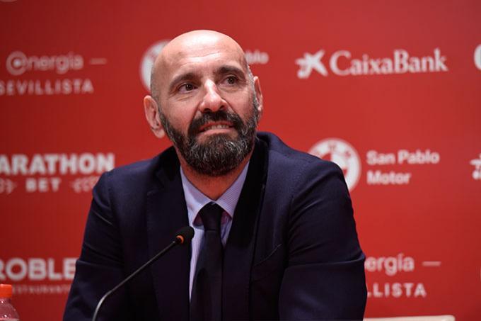 Monchi, durante una rueda de prensa (Foto: Kiko Hurtado).